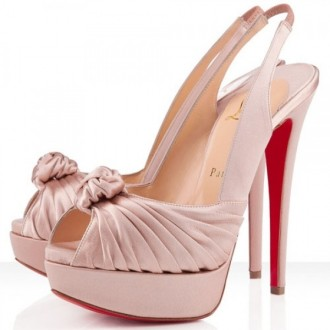 Louboutin Women's Jenny 140mm Special Occasion Nude