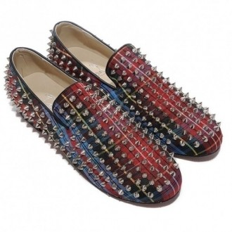 Louboutin Loafers Red